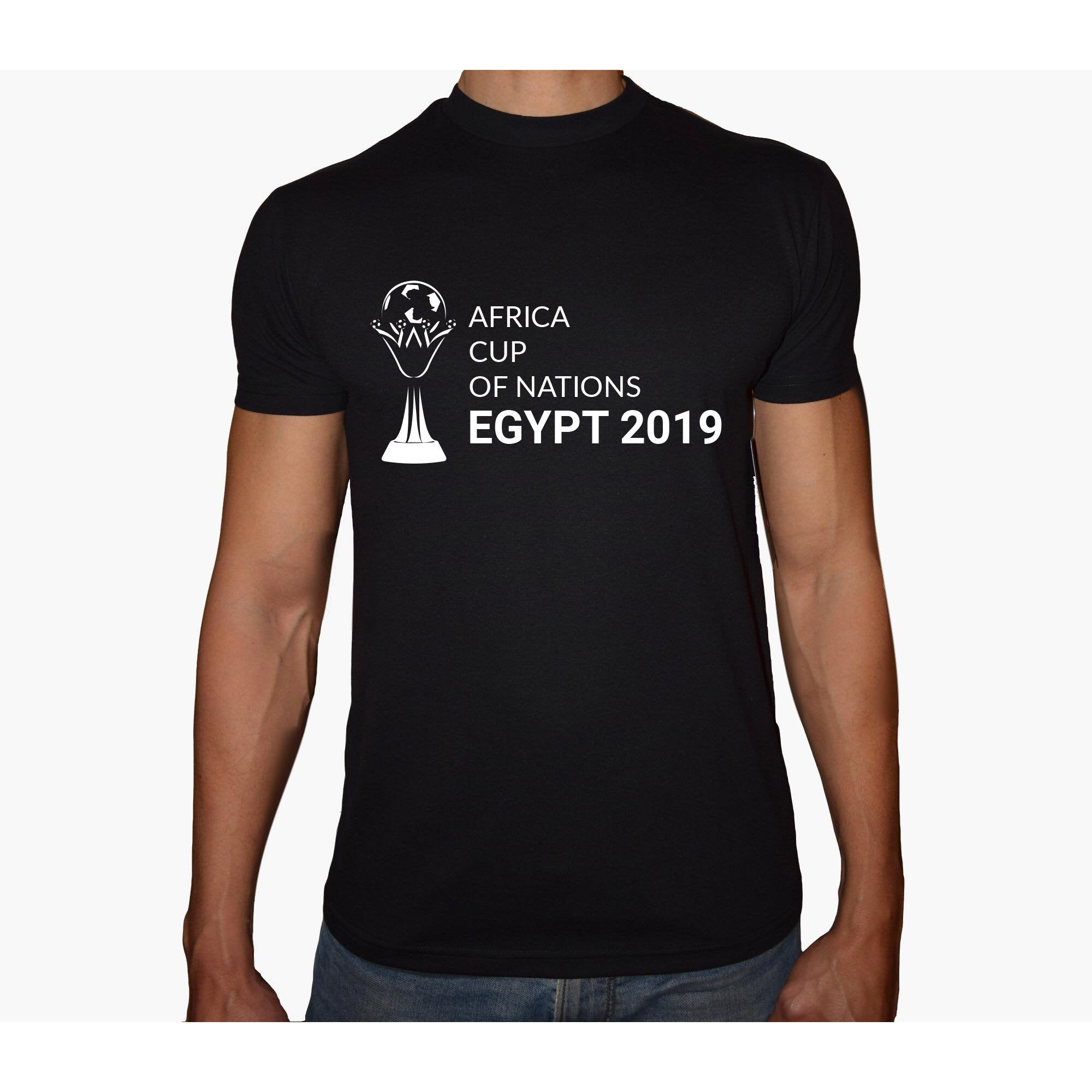 Phoenix BLACK Round Neck Printed T-Shirt Men ( CAF Cup - 2019 )