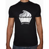 Phoenix BLACK Round Neck Printed T-Shirt Men(cupcakes)