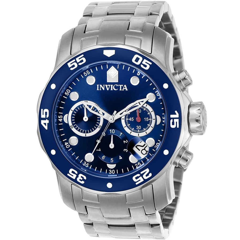 Invicta for Men - Chronograph 0070 Stainless Steel Watch - 3alababak