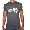 Phoenix CHARCOAL Round Neck Printed T-Shirt Men(CAMERA)