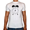 Phoenix WHITE Round Neck Printed T-Shirt Men(clock)