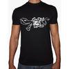 Phoenix BLACK Round Neck Printed T-Shirt Men(erbot el 7omar)