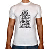 Phoenix WHITE Round Neck Printed T-Shirt Men(haza el shebl)