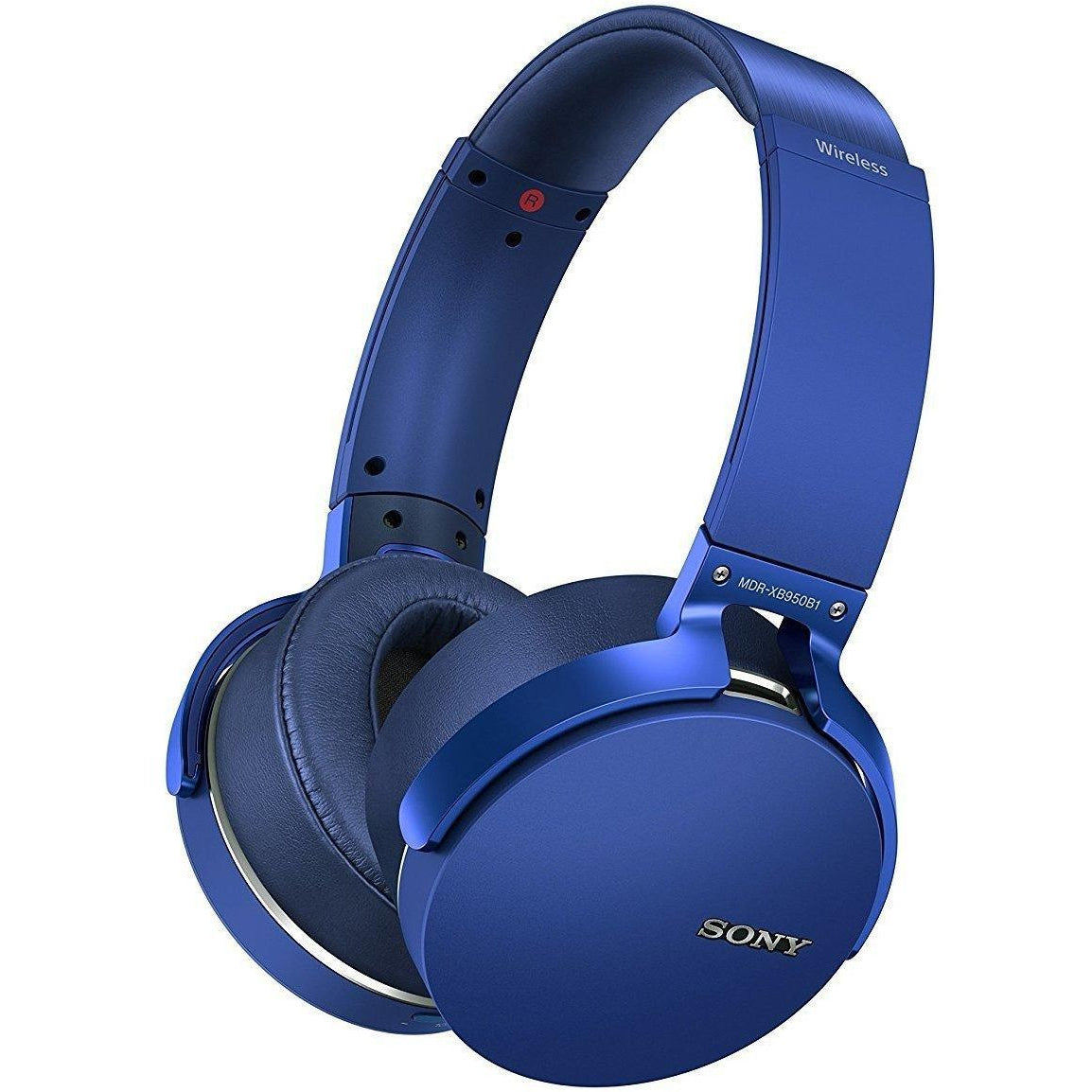 Sony Extra Bass Bluetooth Headset , Blue, MDR-XB950B1LC
