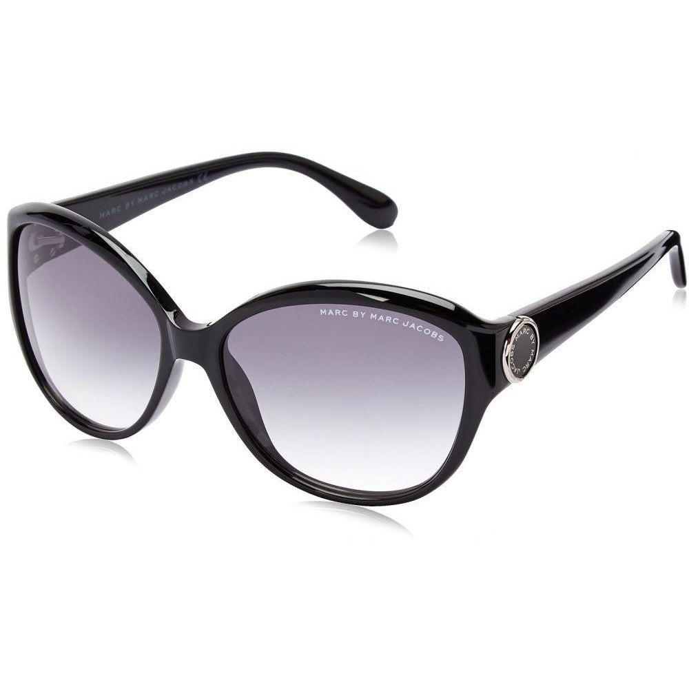 Marc by Marc Jacobs Women MMJ384S Cat-Eye Sunglasses Black