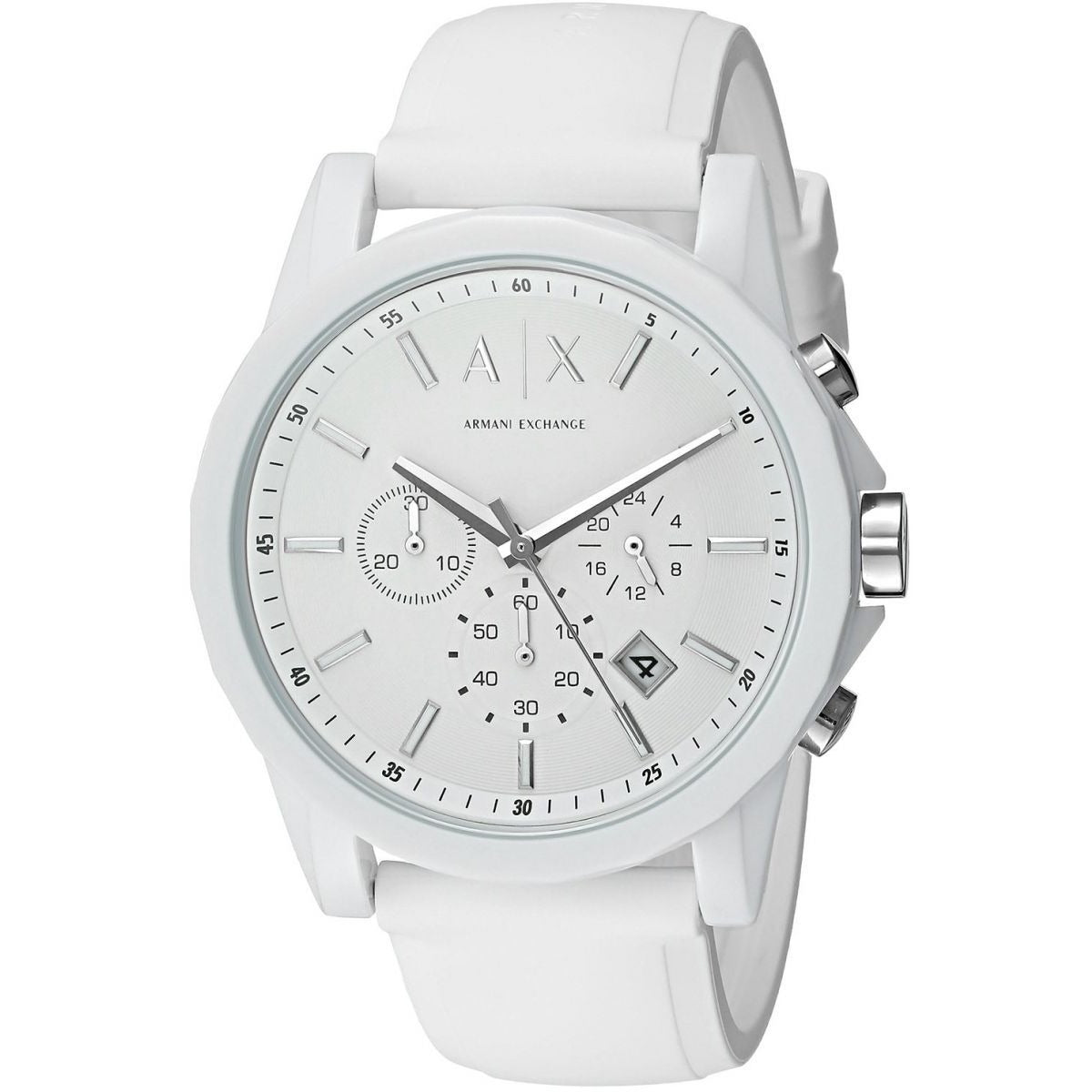 Armani Exchange Unisex AX1325 Analog Quartz White Watch