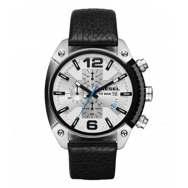 Diesel Casual Watch For Men Analog Leather - DZ4413