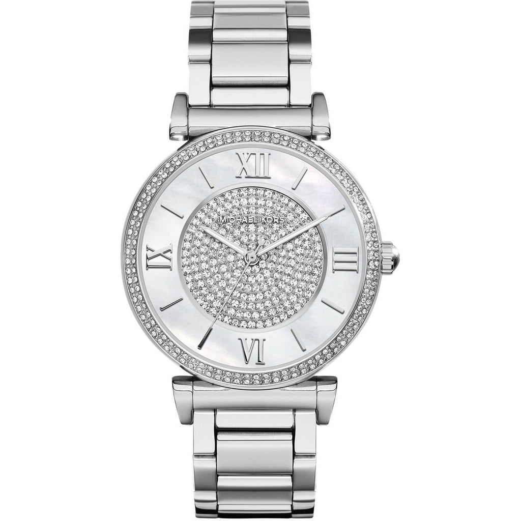 Michael Kors MK3355 Catlin Silver Casual Watch For Women