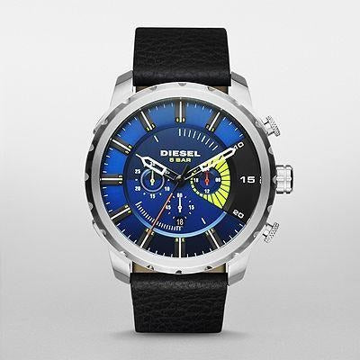 Diesel Casual Watch For Men Analog Leather - DZ4411