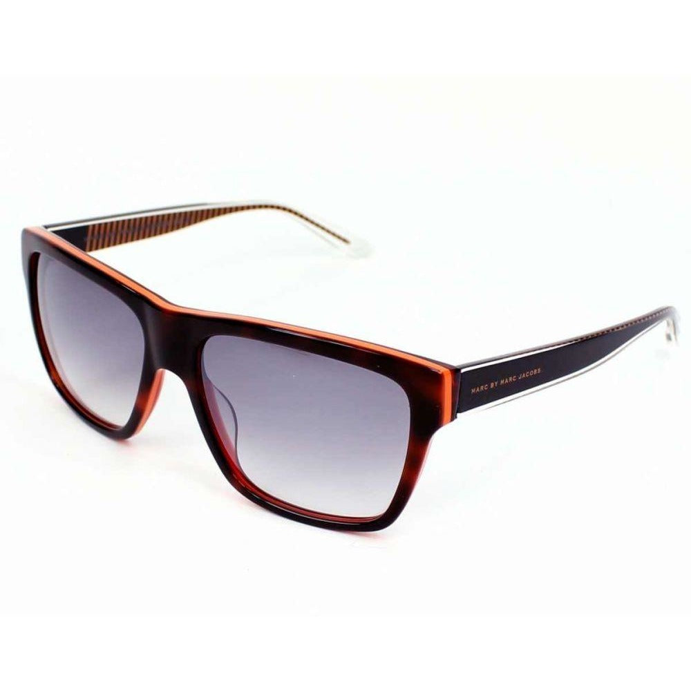 Marc by Marc Jacobs Women MMJ380S Wayfarer Sunglasses Havana Orange 56 mm