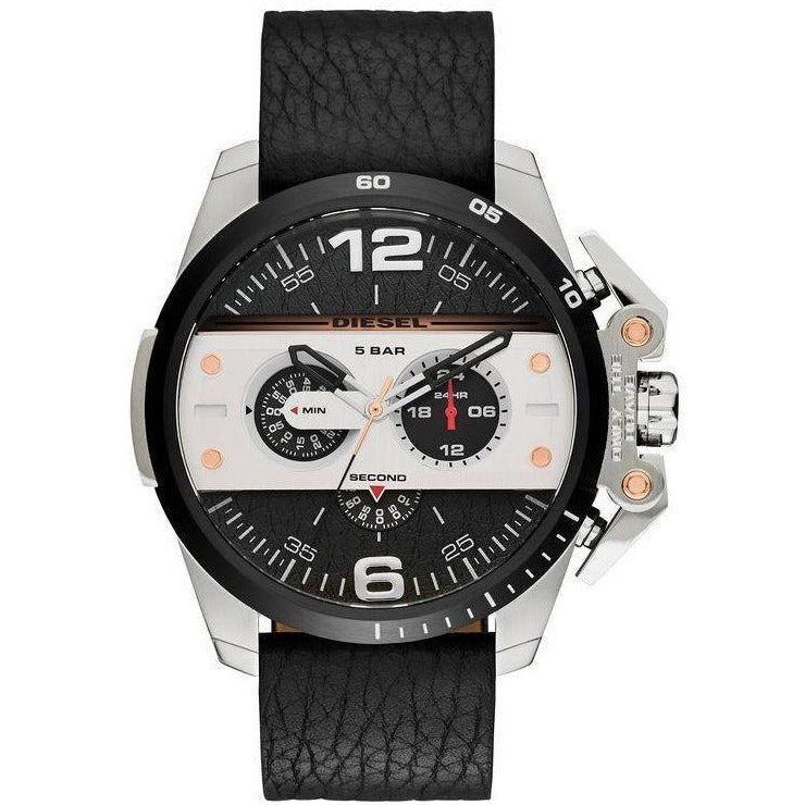 Diesel Casual Watch For Men Analog Leather - DZ4361