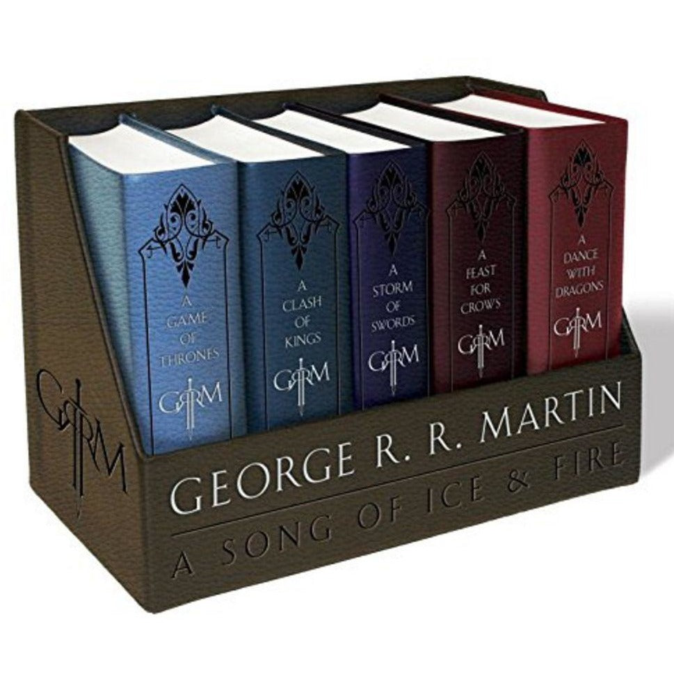 Game of Thrones Leather-Cloth Boxed Set (Song of Ice and Fire Series)