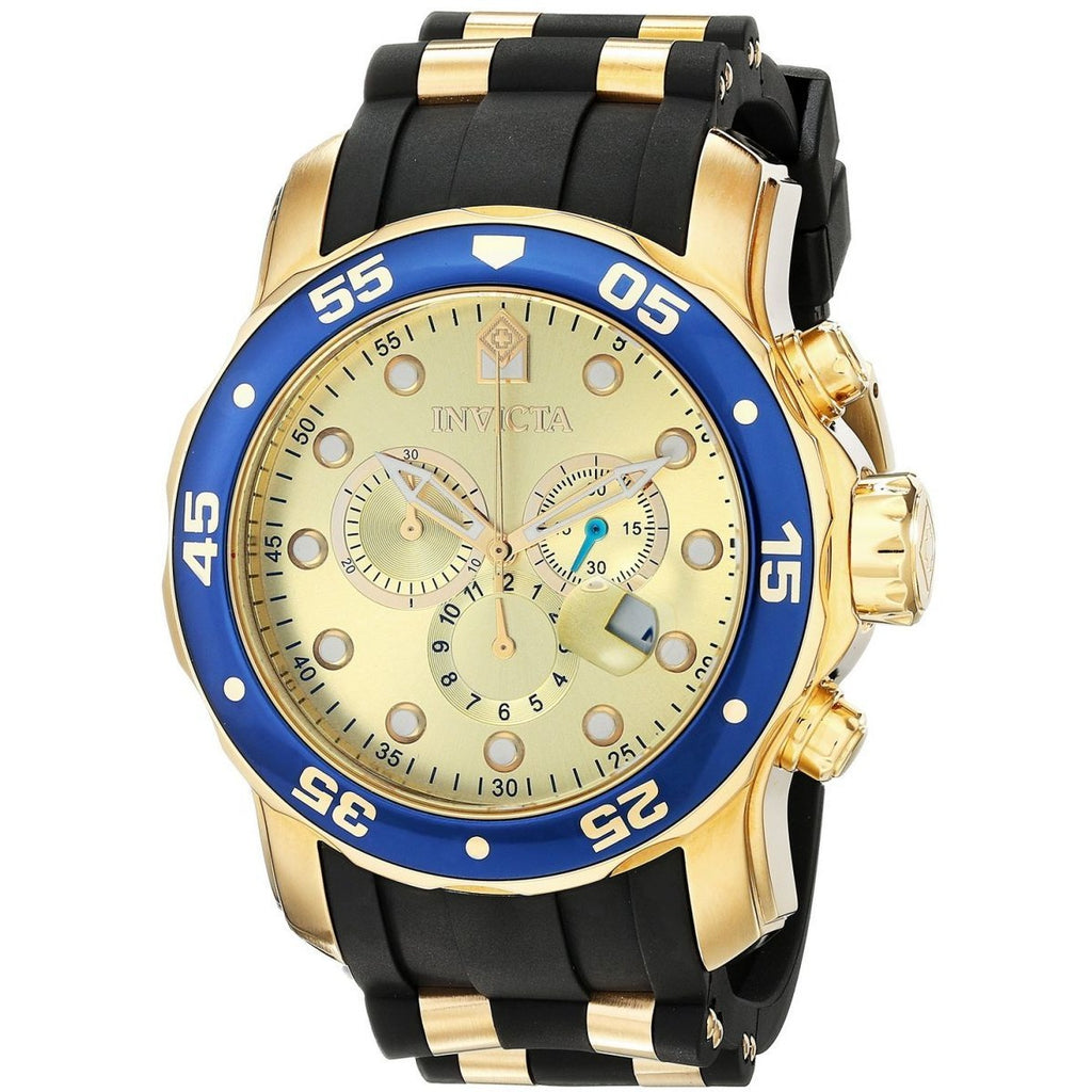 Invicta Pro Diver for Men - Sports Polyurethane Band Watch - 17881 - 3alababak