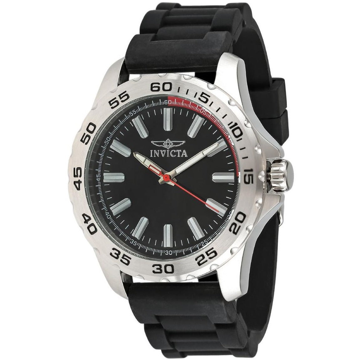 Invicta Men's 'Pro Diver' Quartz Stainless Steel Casual Watch Model 21855