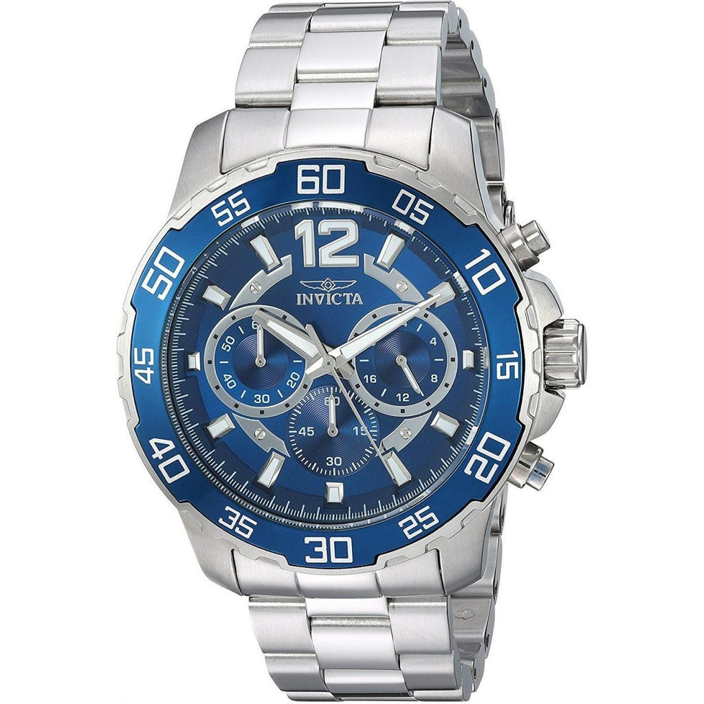 Invicta Casual Watch For Men Analog Stainless Steel - 22713 - 3alababak