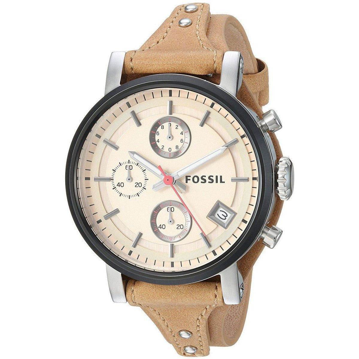 Fossil Casual Watch For Women Analog Leather - ES4177