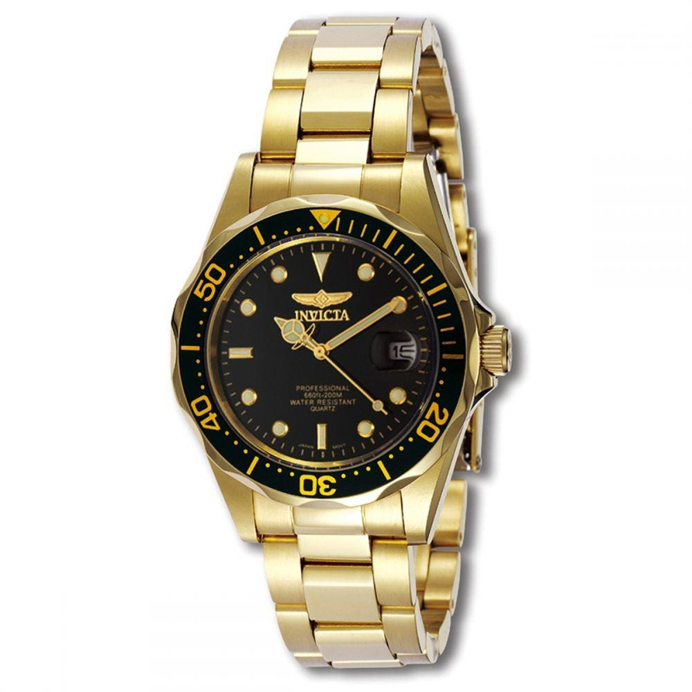 Invicta Pro Diver For Men Black Dial Stainless Steel Band Watch - INVICTA-8936 - 3alababak