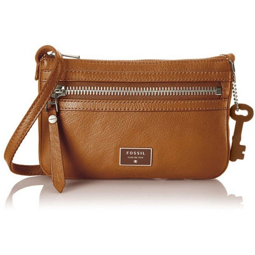 Fossil Dawson Mini Cross Body Bag Camel