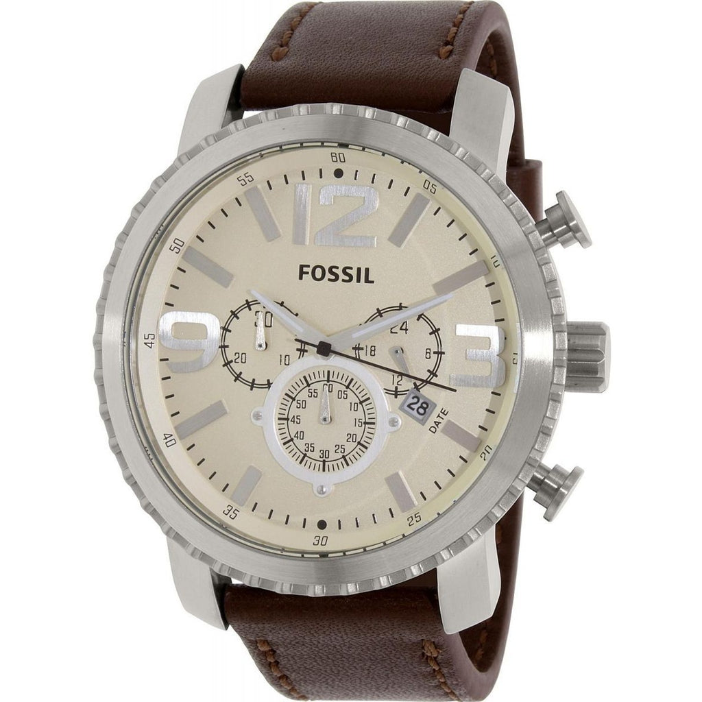 Fossil Casual Watch For Men Analog Leather - BQ1177