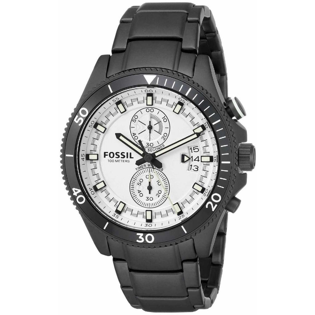 Fossil Wakefield Watch for Men - Analog Stainless Steel Band - CH2999