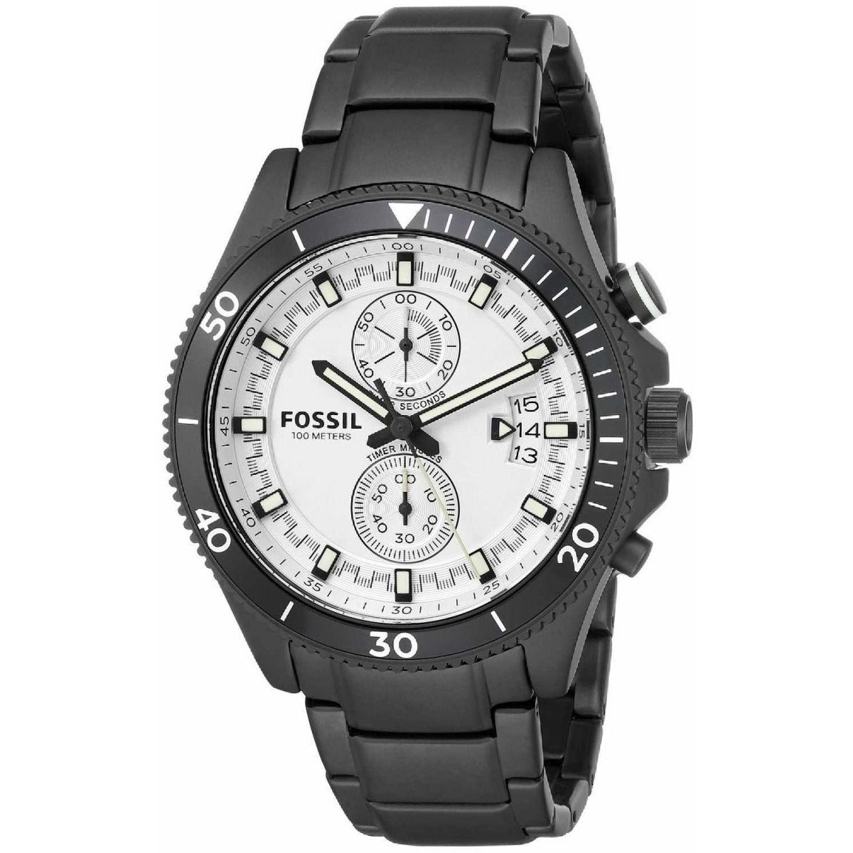 Fossil Wakefield Watch for Men Analog Stainless Steel Band - CH2999
