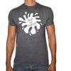 Phoenix CHARCOAL Round Neck Printed T-Shirt Men(just be yourself)