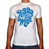 Phoenix WHITE Round Neck Printed T-Shirt Men(know your worth)