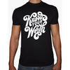 Phoenix BLACK Round Neck Printed T-Shirt Men(know your worth)