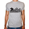 Phoenix GREY Round Neck Printed T-Shirt Men(lesank 7osank)