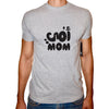 Phoenix GREY Round Neck Printed T-Shirt Men(omi )