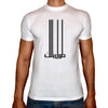 Phoenix WHITE Round Neck Printed T-Shirt Men(tawel balak)