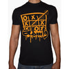 Phoenix BLACK Round Neck Printed T-Shirt Men(wasta)