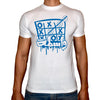 Phoenix WHITE Round Neck Printed T-Shirt Men(wasta)