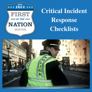 Critical Incident Response Checklists (Package 1)