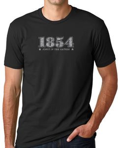 Vintage 1854 T-Shirt - First In The Nation-1854 LLC - 3