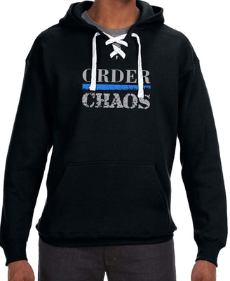 Order over Chaos Sport Lace-Up Hoodie - First In The Nation-1854 LLC - 5