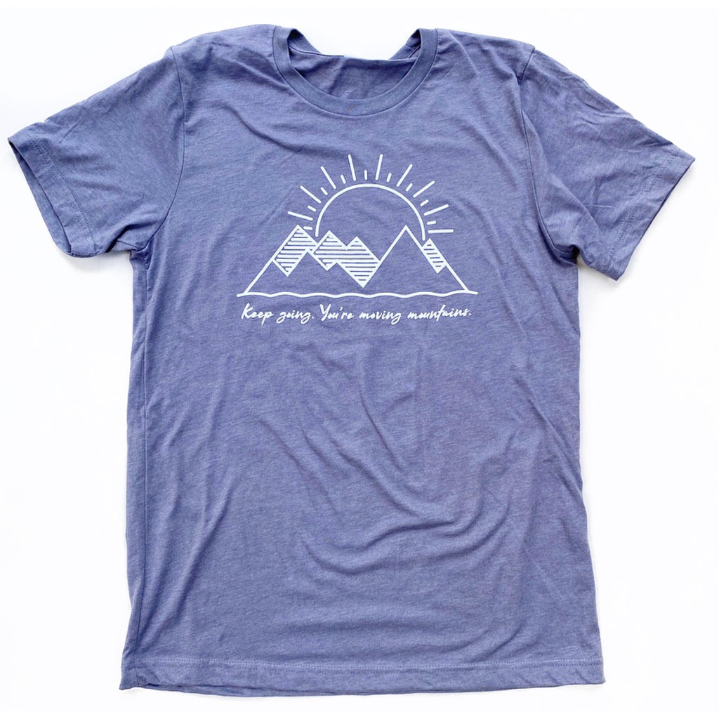 MOVE MOUNTAINS, Unisex T-Shirt