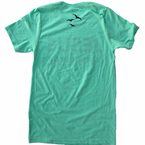 JESUS IS MY HOMIE, Mint Green Unisex T-shirt