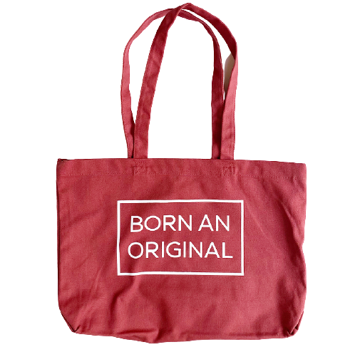 BORN AN ORIGINAL, Small Tote Bag