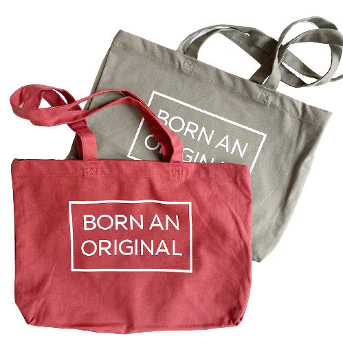 BORN AN ORINAL, Small Tote Bag Combo Pack (One of Each)