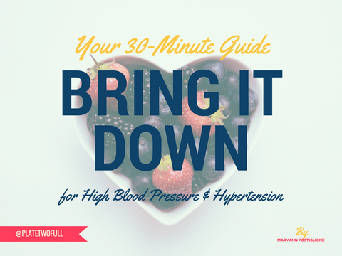 Bring It Down 30-Minute Workbook