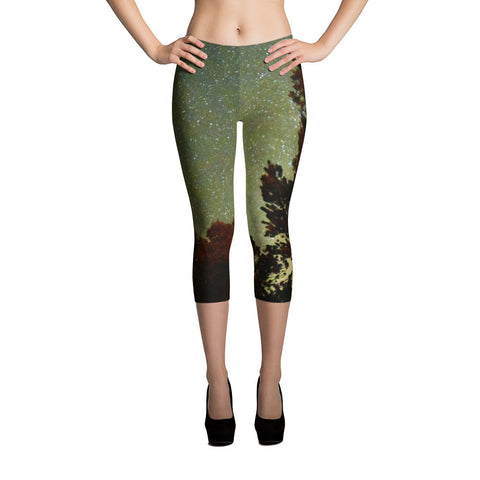 Colorado Sky Capri Leggings
