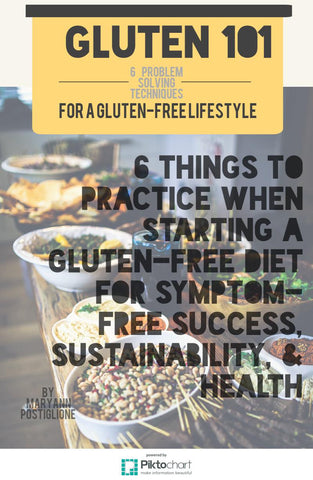 Gluten 101: 6 Practices When Starting a Gluten Free Lifestyle
