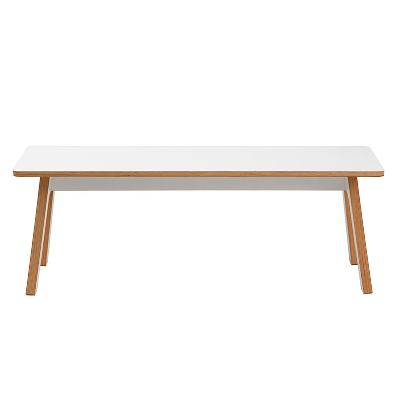 ByALEX FSC Birch Plywood White K-S Bench -  - Bench - ByALEX - Space & Shape - 1
