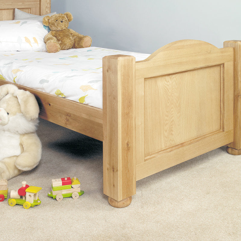 Amelie Solid Oak Children's (Standard Sized 3') Single Bed -  - Bed - Baumhaus - Space & Shape - 1