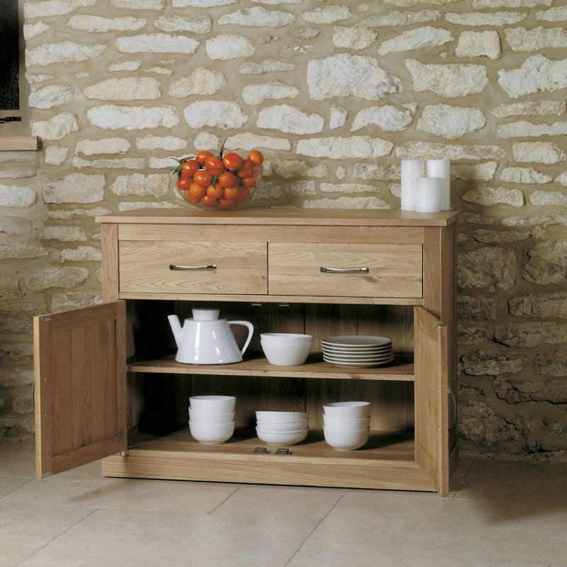 Mobel Solid Oak Small Sideboard -  - Sideboard - Baumhaus - Space & Shape - 1