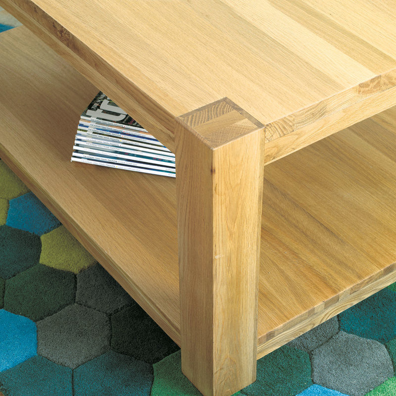 Aston Solid Oak Coffee Table Medium -  - Coffee Table - Baumhaus - Space & Shape - 1