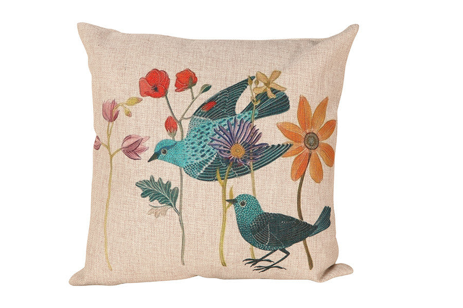 Space & Shape Summer Birds Cushion -  - Cushion - JHS - Space & Shape