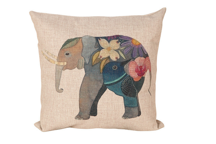 Space & Shape Elephant Cushion -  - Cushion - JHS - Space & Shape