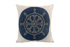 Space & Shape Ship Wheel Cushion -  - Cushion - JHS - Space & Shape - 1